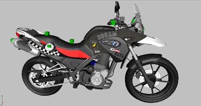 Resultado de imagem para motos bmw rocam rn
