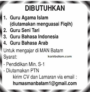 Lowongan Kerja Guru Agama Islam dan Bahasa Indonesia
