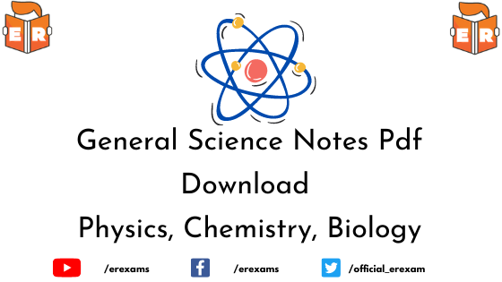 General Science Notes Pdf Download