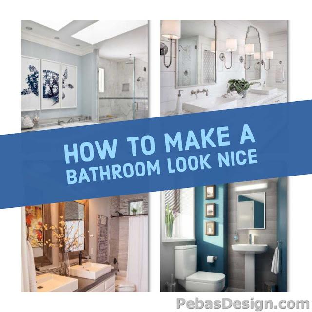 Simple nice bathroom upgrades