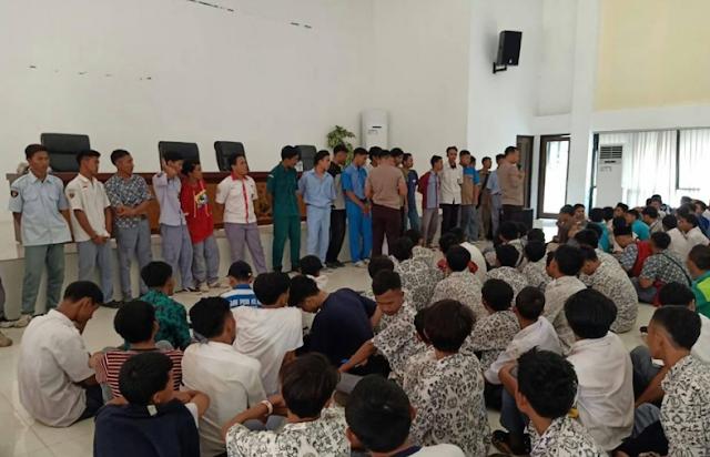 Siswa SMK di amankan Kepolisian Akibat Ingin Ikut Aksi Demo