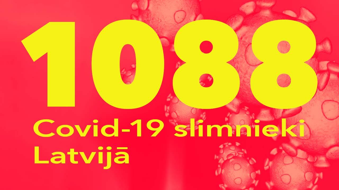 Koronavīrusa saslimušo skaits Latvijā 07.06.2020.