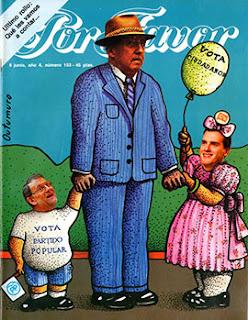 el villano arrinconado, humor, chistes, reir, satira, la Transicion, Partido Popular, Ciudadanos