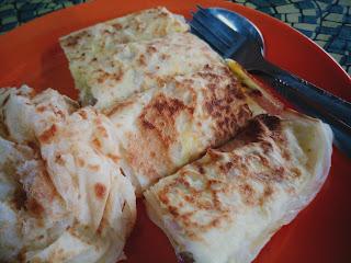 Roti Kosong & Roti Telur Bawang