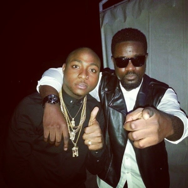 davido and sarkodie