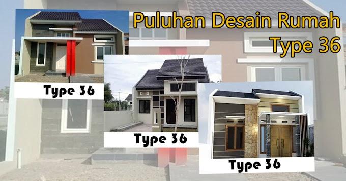 Ini Dia Puluhan Desain Terbaru Untuk Rumah Type 36