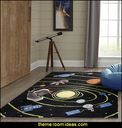Momeni Lil Mo Whimsy Solar Black Hand-Tufted and Hand-Carved Rug