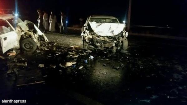 بالأسماء.. مصرع وإصابة 4 أشخاص من عائلة واحدة في حادث بالبحيرة