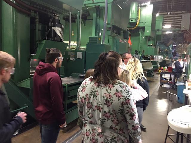 Tri Star CBI Students Tour Pax Machine Works In Celina