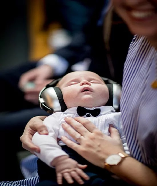 baby music lover