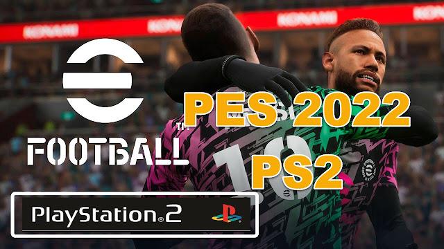 تحميل لعبة بيس DOWNLOAD PES 2022 PS2 🔥🔥🔥
