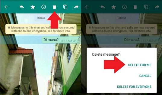 Cara Menghapus Pesan Terkirim di WhatsApp Dengan Cepat dan Mudah