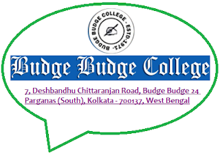 Budge Budge College, 7, Deshbandhu Chittaranjan Road, Budge Budge 24 Parganas (South), Kolkata - 700137, West Bengal