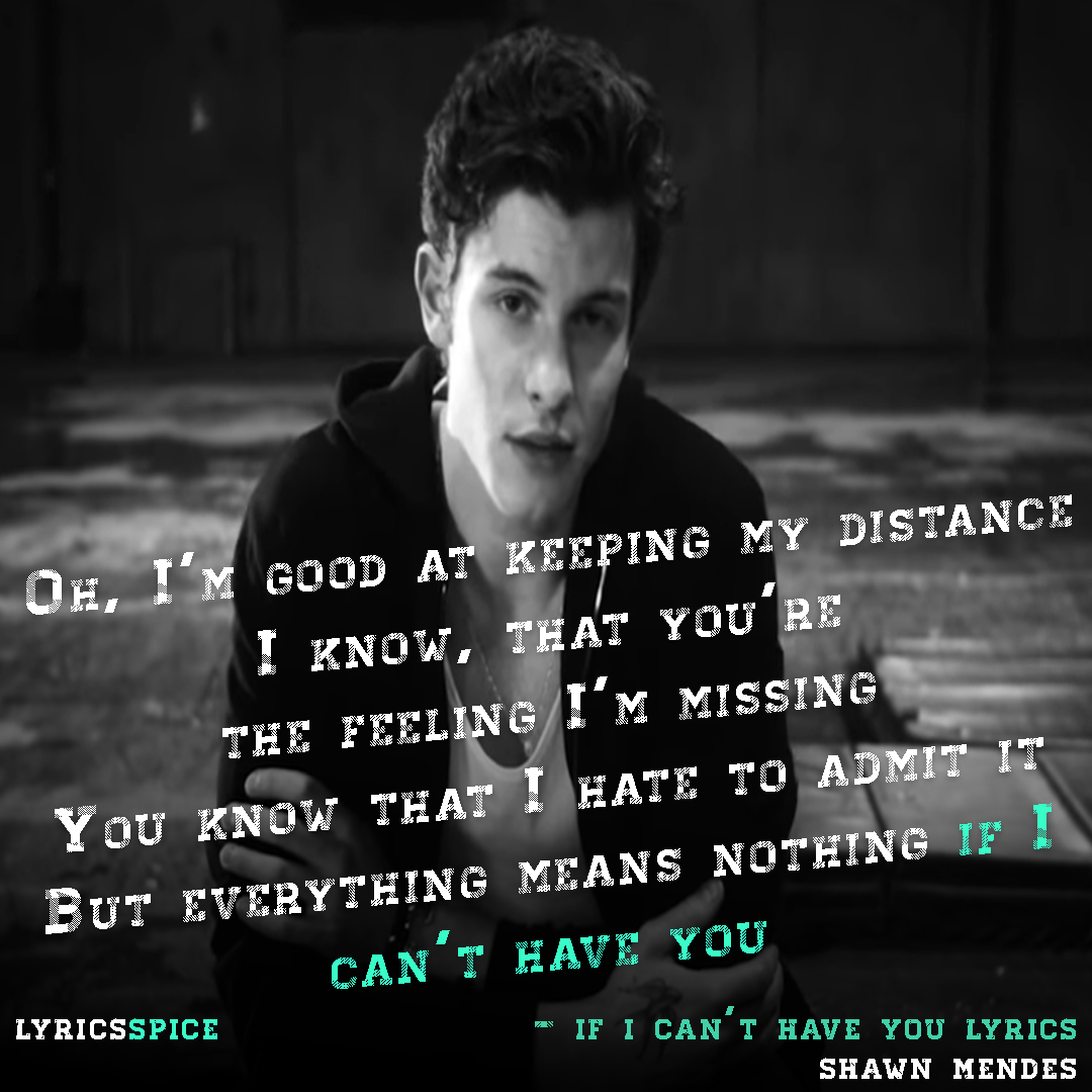 download if i cant have you lyrics image quote of shawn mendes for whatsapp status