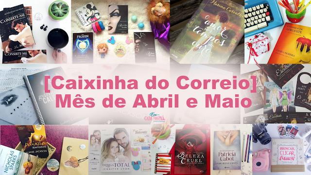 Book Haul - Mês de Abril e Maio de 2016