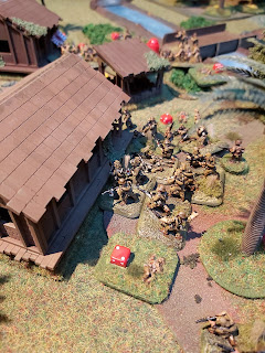 The Japanese capture another building