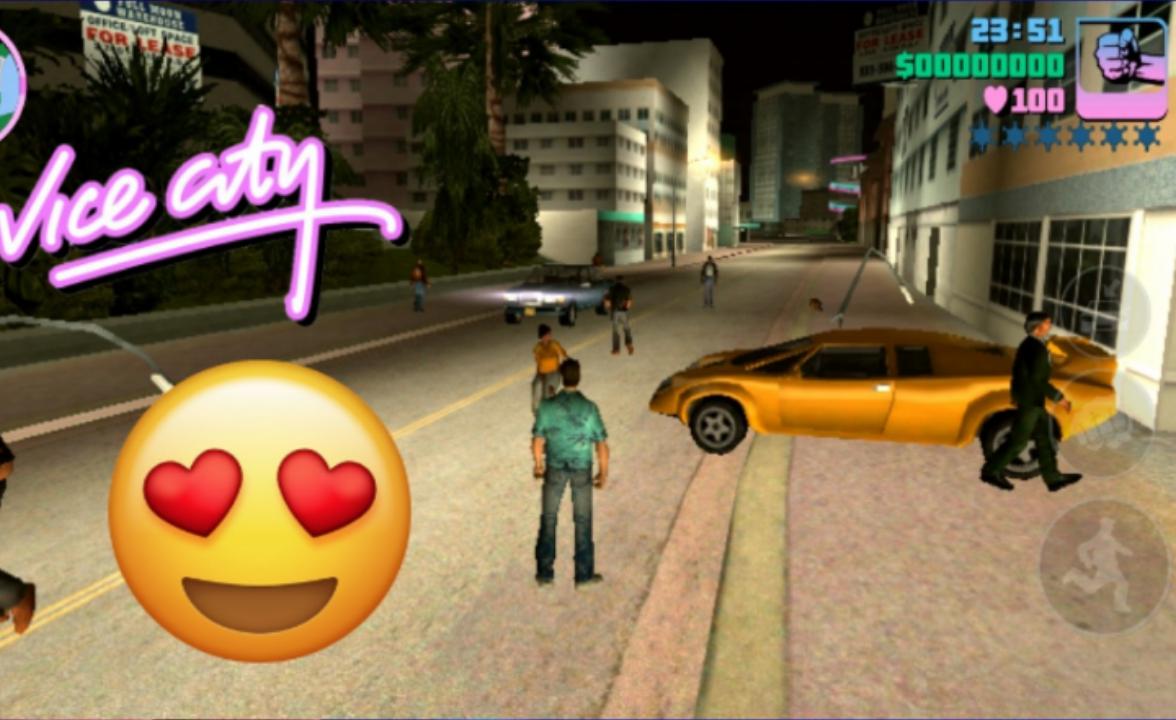 تحميل لعبه GTA Vice City للأندرويد كامله من ميديا فير