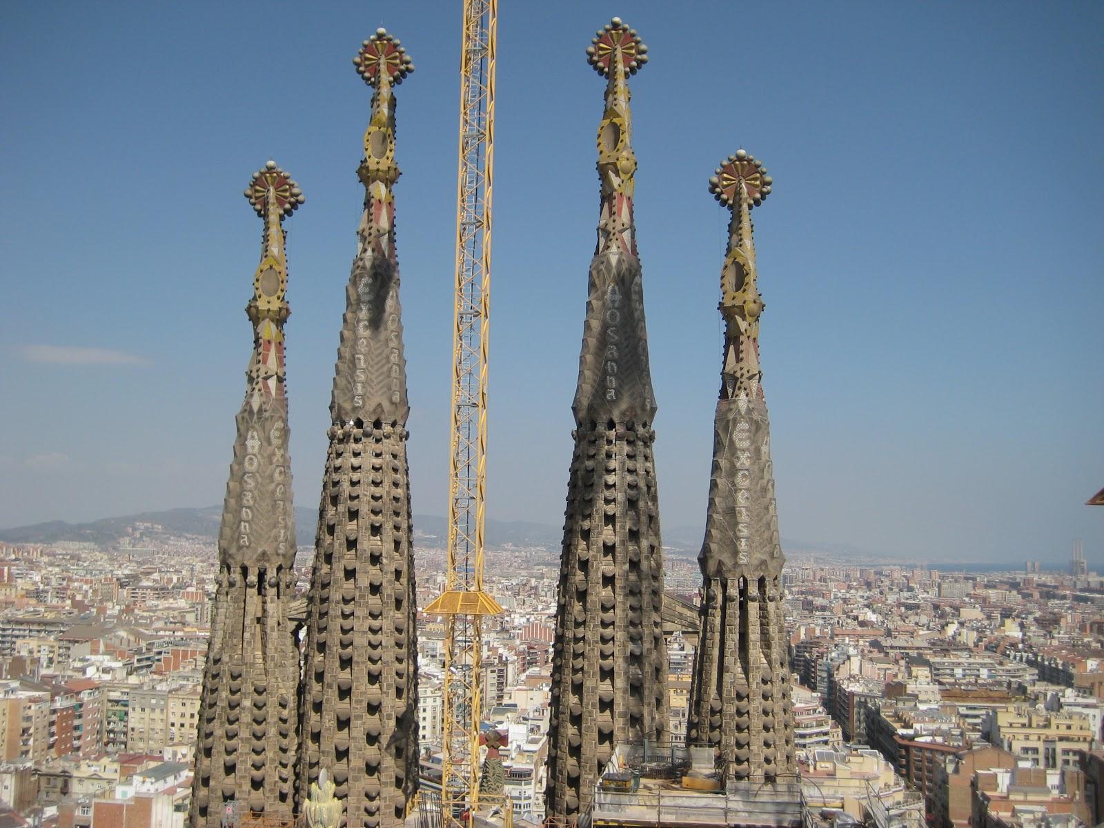 Euro Trek Currently Under Construction Sagrada Familia