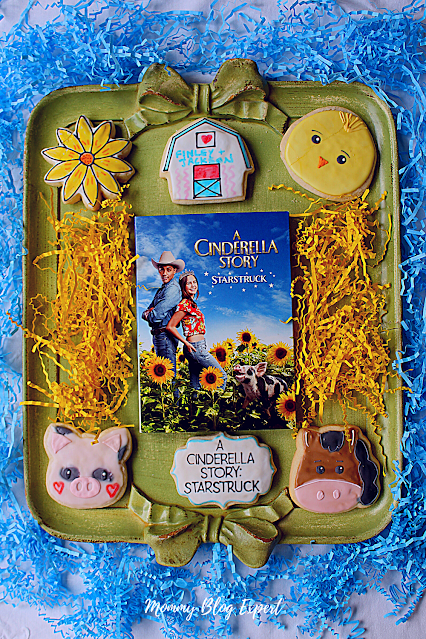 Farm Cookies from Little Sparks Cookies Celebrate A Cinderella Story Starstuck Movie