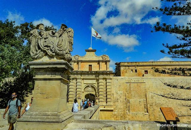 Portão de Mdina (Mdina Gate), em Malta