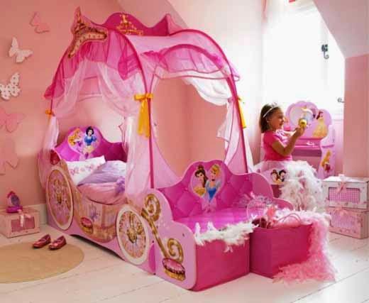 Kamar tidur bertema princess