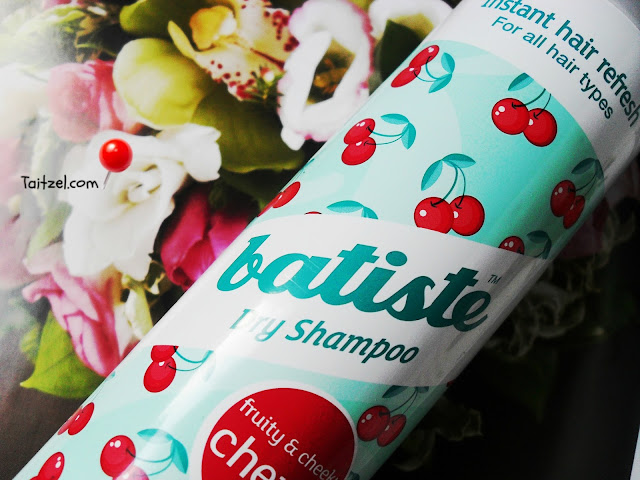 Batiste fruity and cheeky Cherry sampon uscat dry shampoo