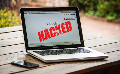 hacked google logo
