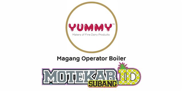 Lowongan Kerja PT Yummy Food Utama Februari 2021 - Motekar Subang