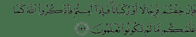 Surat Al-Baqarah Ayat 239