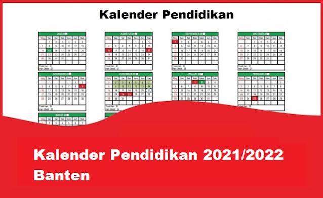 kalender pendidikan banten
