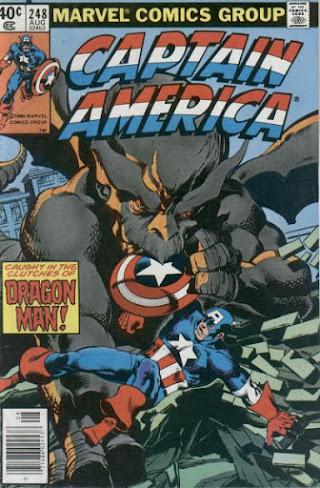 Captain America #248, Dragon Man