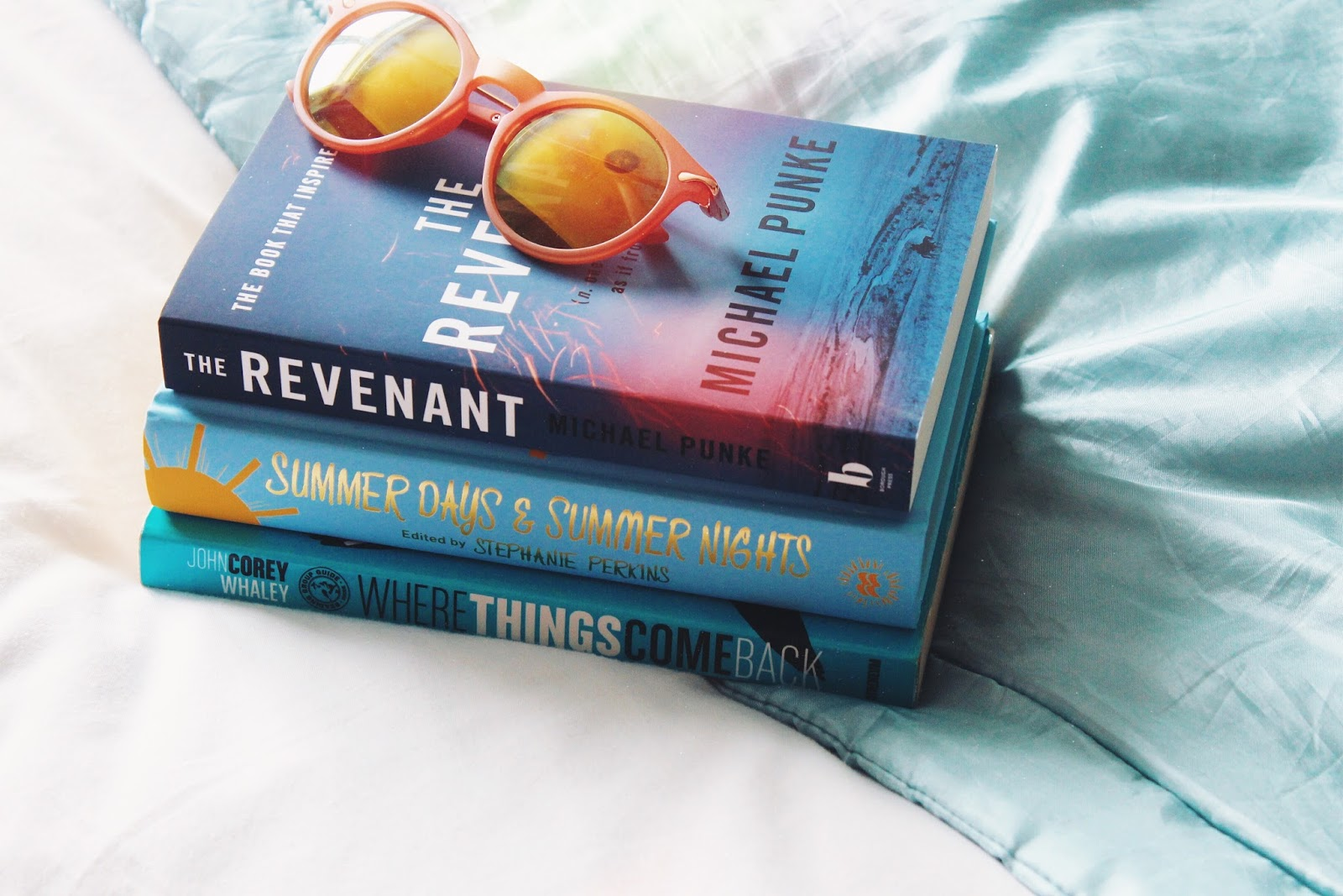 Summer book picks and sunglasses