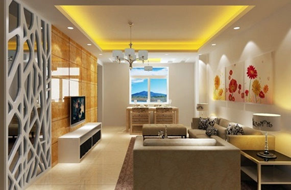 Beauty Interior Living Room Decorating With Bright Colors Dream House
