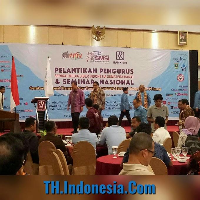 Implementasi Transaksi Non Tunai di Provinsi Sumatera Barat Telah Ada Kesiapan Dari Kabupaten Kota Se- Sumbar