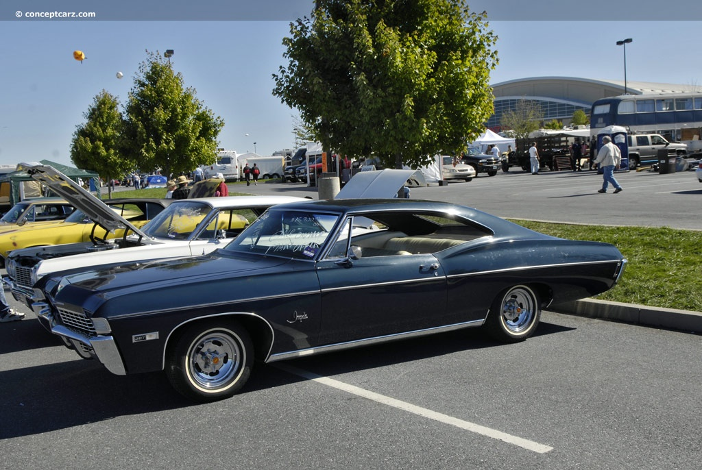 The Hottest Muscle Cars In The World 1968 Chevrolet
