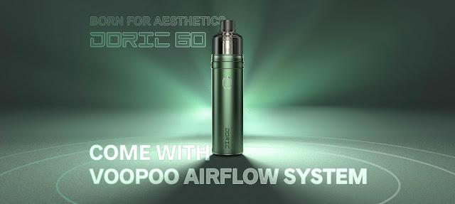 Lightweight VOOPOO Doric 60 Pod Kit