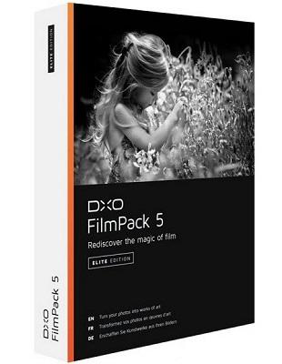 DxO FilmPack Elite 5.5.10 Build 544 poster box cover