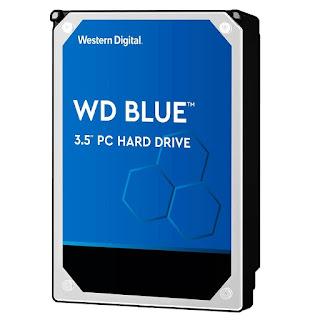 """HD Western Digital Blue 2TB 3.5"""" SATA 6.0Gb/s - WD20EZAZ"""