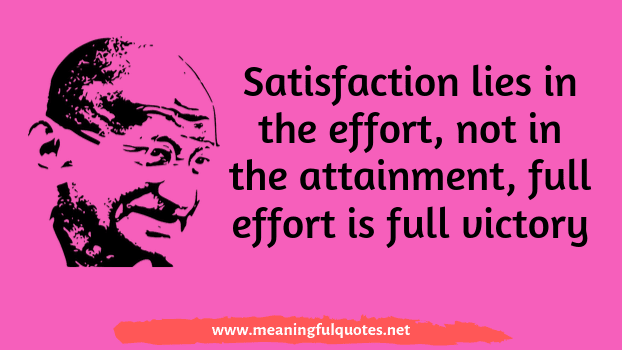 Mahatma Gandhi quotes and captions