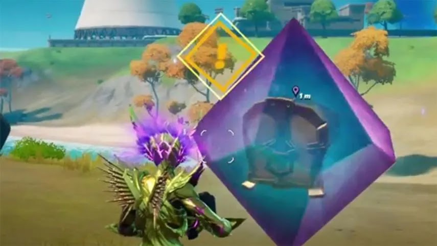 How to open the new cosmic chest in Fortnite season 7