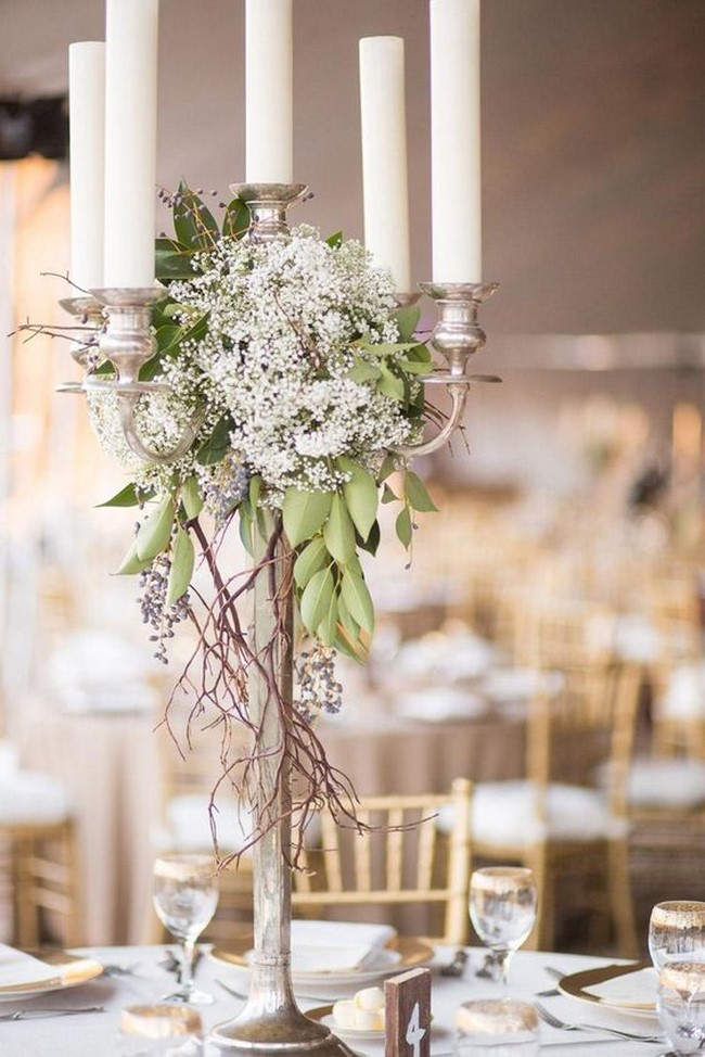 centros de mesa para bodas elegantes