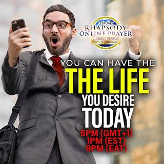 STREAM LIVE: RHAPSODY ONLINE PRAYER CONFERENCE (FEB 2021)