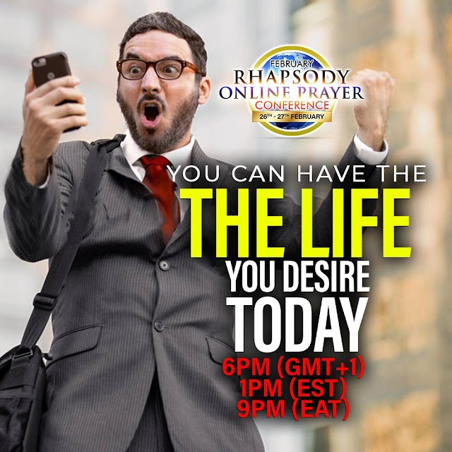 STREAM LIVE: RHAPSODY ONLINE PRAYER CONFERENCE (FEB 2021)