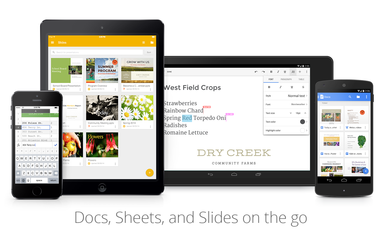 Google Drive Blog: Work with any file, on any device, any