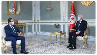 رئيس الجمهورية يستقبل زهير المغزاوي ويؤكد على استعداده لإجراء حوار وطني شبابي