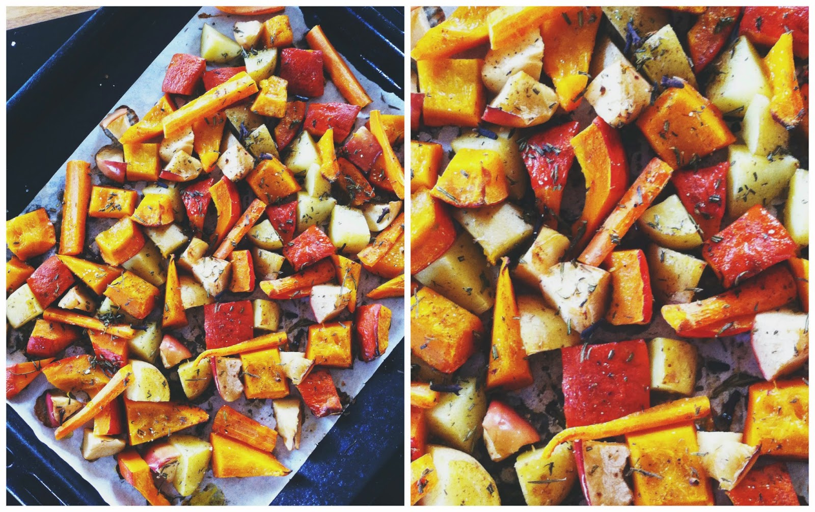 Roasted Fall Vegetables // 2 Dishes