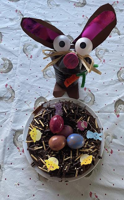 Le gâteau nid de Pâques au chocolat Chefclub