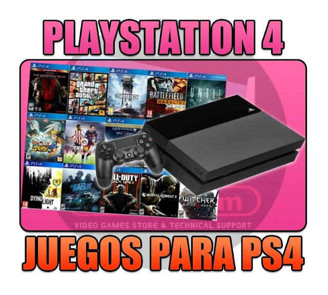 VENTA DE JUEGOS FAKE-PKG PARA PLAYSTATION 4