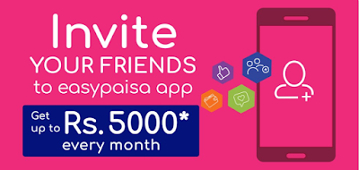 easypaisa invite and earn