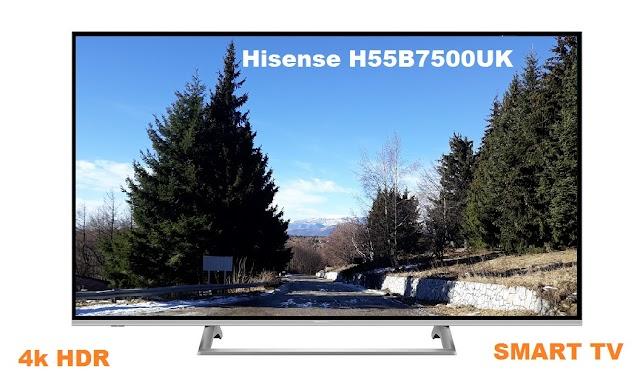 Hisense H55B7500UK TV specs